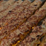 Kubideh on the grill